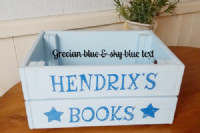 Personalised Wooden Storage Box